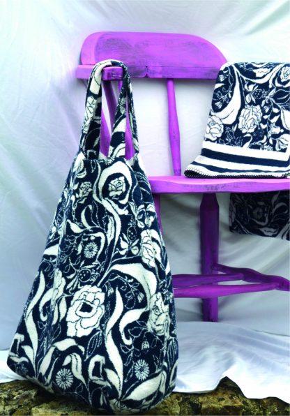 Recycled cotton yoga mat bag