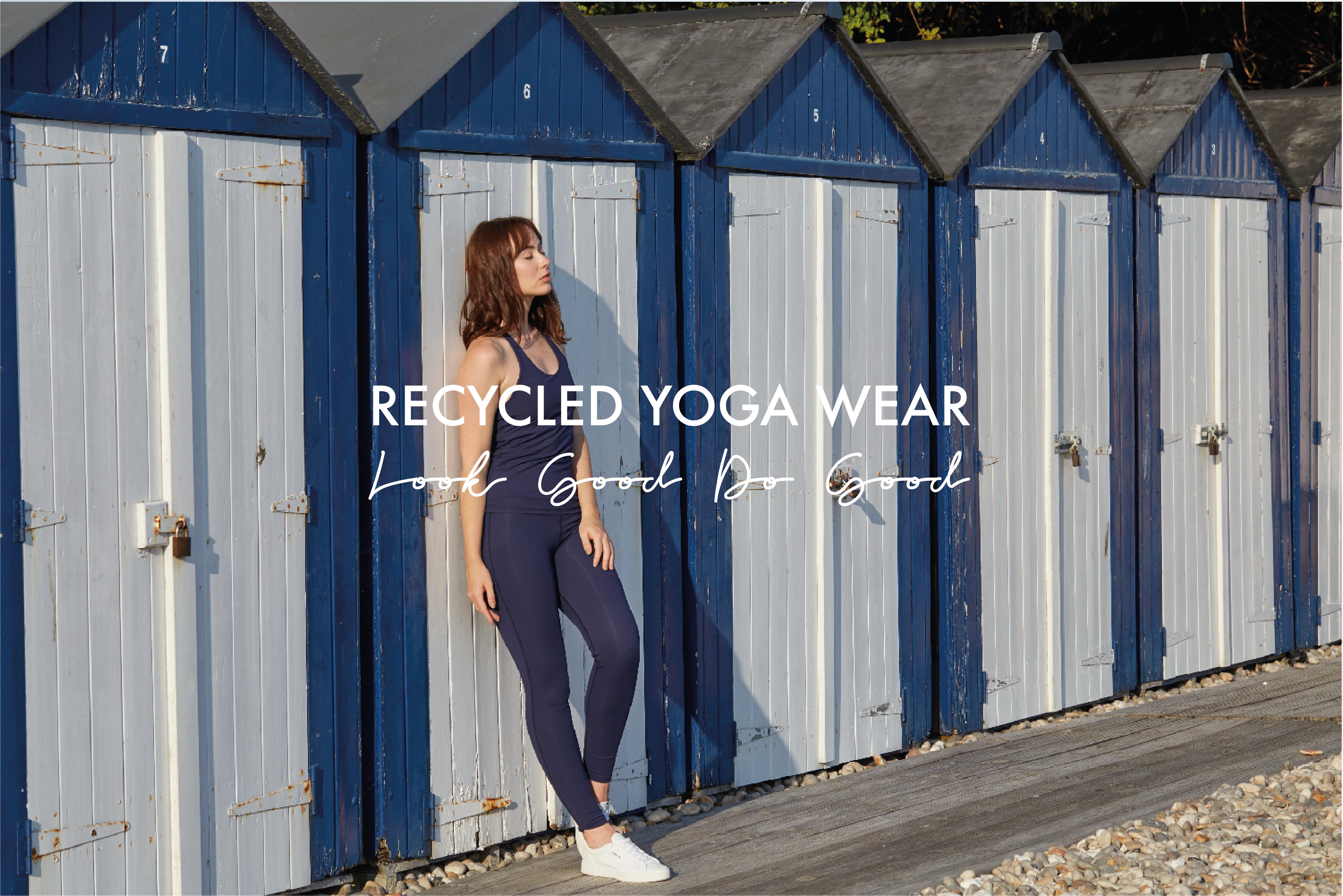 recycled yoga wear